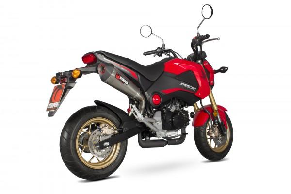 Scorpion Serket Taper Auspuff für Honda MSX 125 Grom 2013-2016