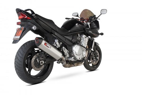 Scorpion Serket Parallel Auspuff für Suzuki GSF 1250 Bandit 2007-2015 Motorräder