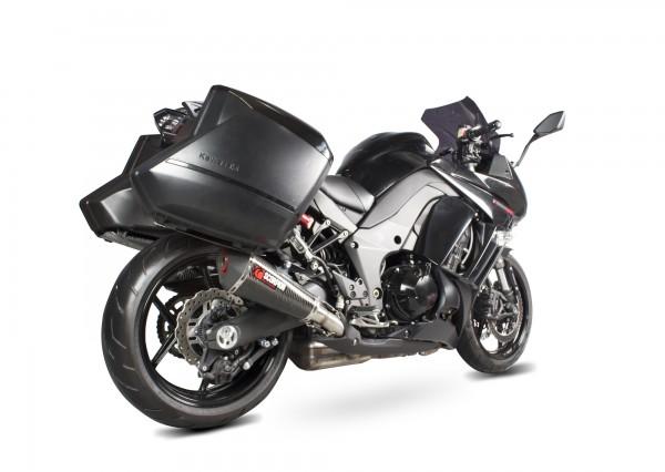Scorpion Serket Parallel Auspuff für Kawasaki Z 1000 SX 2014-2016 Motorräder