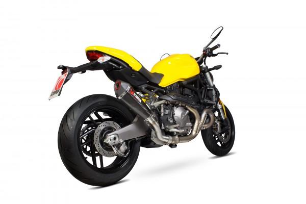 Scorpion Serket Taper Auspuff für Ducati Monster 821 2014-2017 Motorräder