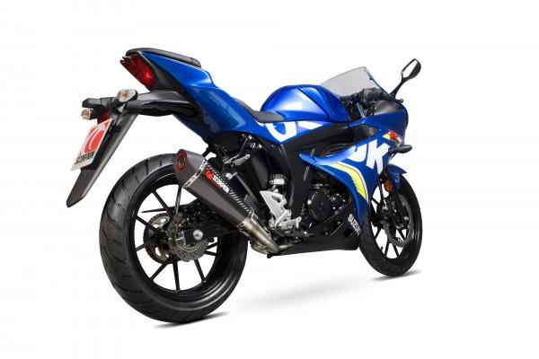 Scorpion Serket Taper Komplettanlage für Suzuki GSX R 125 / R 150 2017-2020 Motorräder