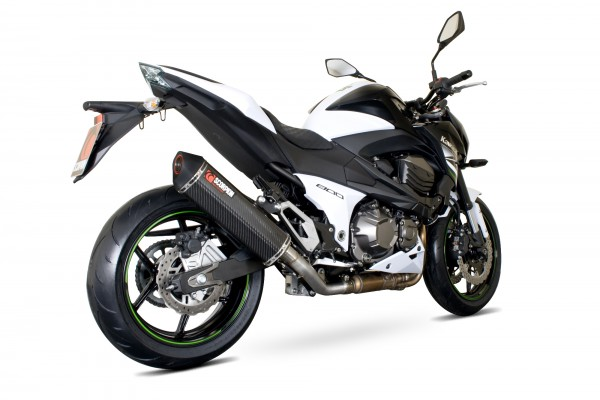 Scorpion Serket Parallel Auspuff für Kawasaki Z 800 2013-2016 Motorräder