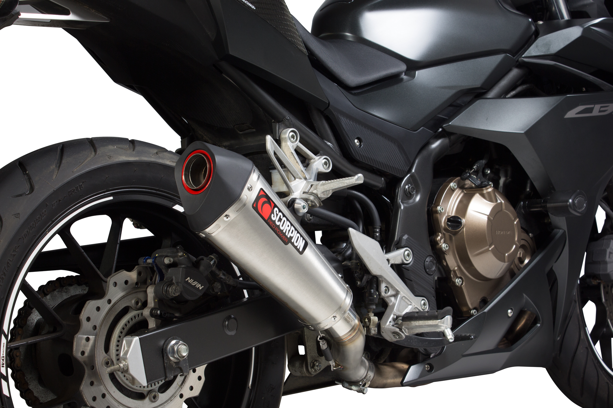 Scorpion Serket Taper Endtopf Für Dein Honda Cbr 500 R 2017