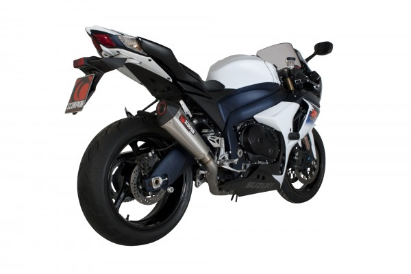 Scorpion Serket Taper Auspuff für Suzuki GSX R 1000 2009-2011 Motorräder