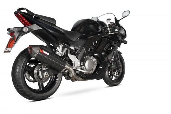 Scorpion Serket Parallel Auspuff für Suzuki SV 650 2004-2015 Motorräder