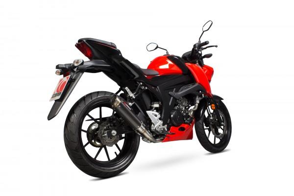 Scorpion RP-1 GP Endtopf mit Krümmeranlage für Suzuki GSX-S 125 Motorräder