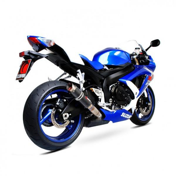 Scorpion RP-1 GP Auspuff für Suzuki GSXR 750 2008-2010 Motorräder