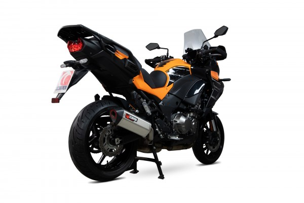 Scorpion Serket Parallel Auspuff für Kawasaki Versys 1000 / SE / Tourer / Grand Tourer 2019-2020