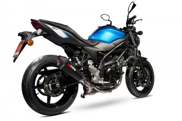 Scorpion Serket Taper Auspuff für Suzuki SV 650 2016-2019 Motorräder