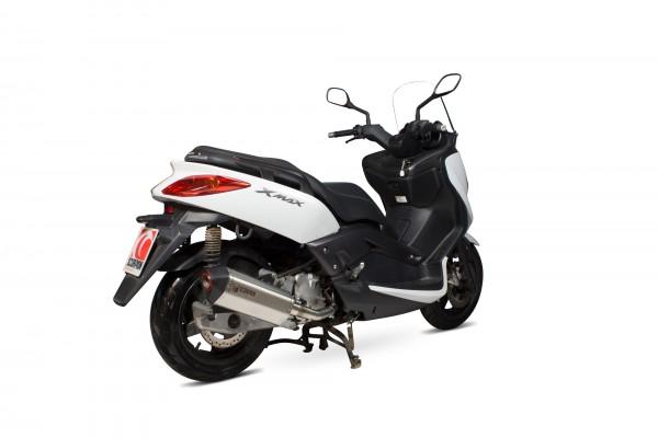 Scorpion Serket Komplettanlage in Edelstahl für Yamaha X-MAX 125 2008-2016 Motorräder