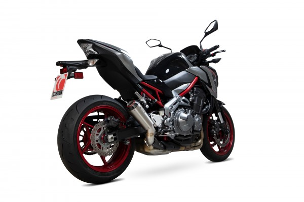 Scorpion Red Power Auspuff für Kawasaki Z 900 2017-2019 Motorräder