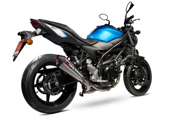 Scorpion Serket Taper Auspuff für Suzuki SV 650 2016-2020 / SV 650 X 2018-2020 Motorräder