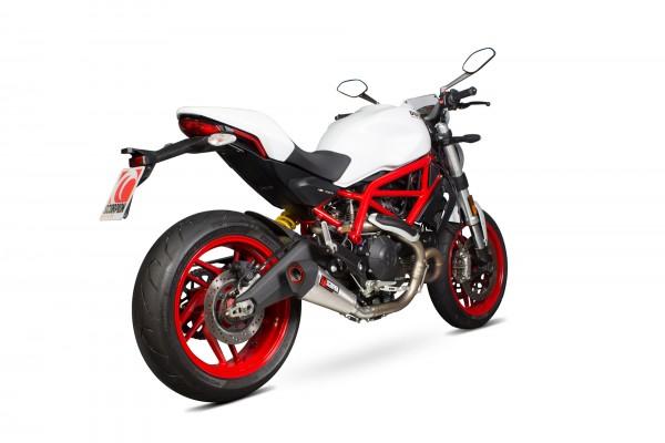Scorpion Serket Taper Endtopf für Ducati Monster 797