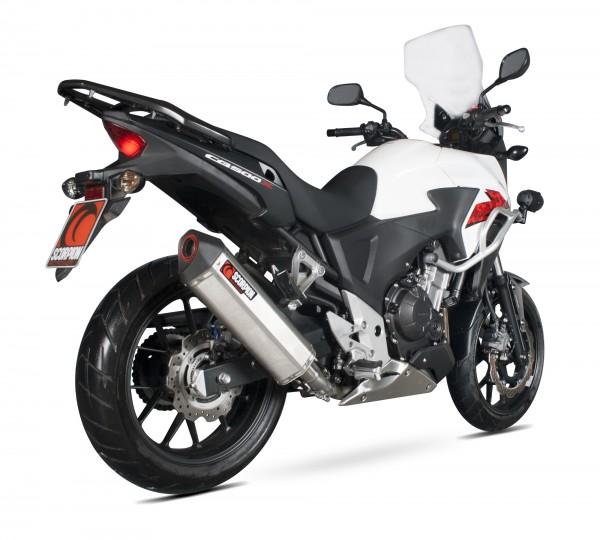 Scorpion Serket Parallel Auspuff für Honda CB 500 F 2013-2015 Motorräder