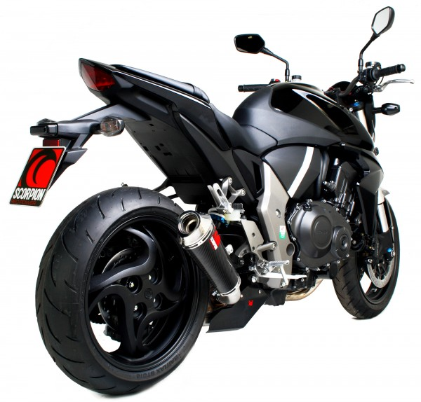 Scorpion Power Cone Auspuff für Honda CB 1000 R 2008-2017