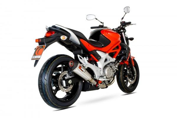 Scorpion Serket Taper Auspuff für Suzuki Gladius 650 2009-2016 Motorräder