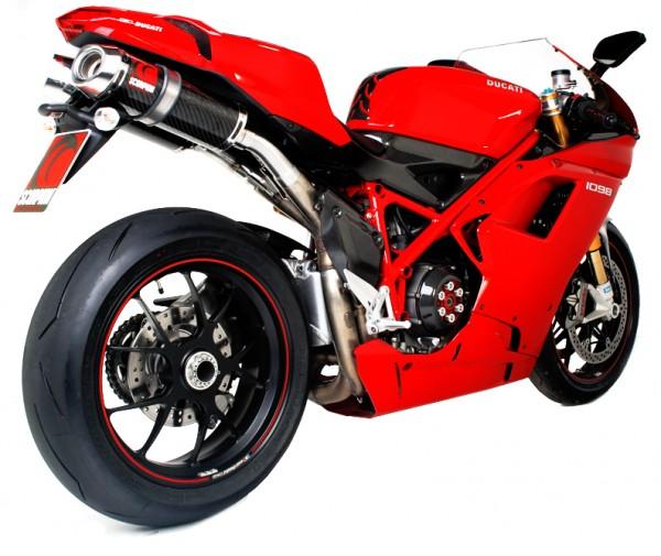 Scorpion Factory Auspuff für Ducati 1098 R 2007-2009 Motorräder