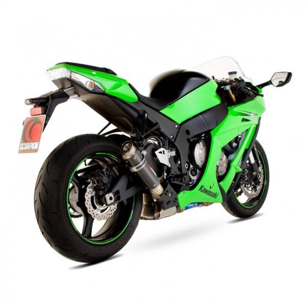 Scorpion RP-1 GP Auspuff für Kawasaki Ninja ZX 10 R 2011-2015