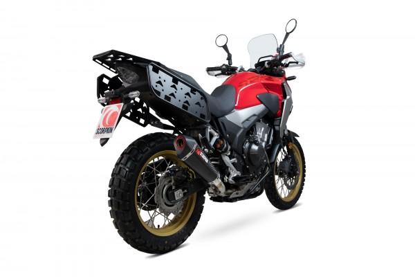 Scorpion Serket Taper Auspuff für Honda CB 500 X 2019-2020 Motorräder