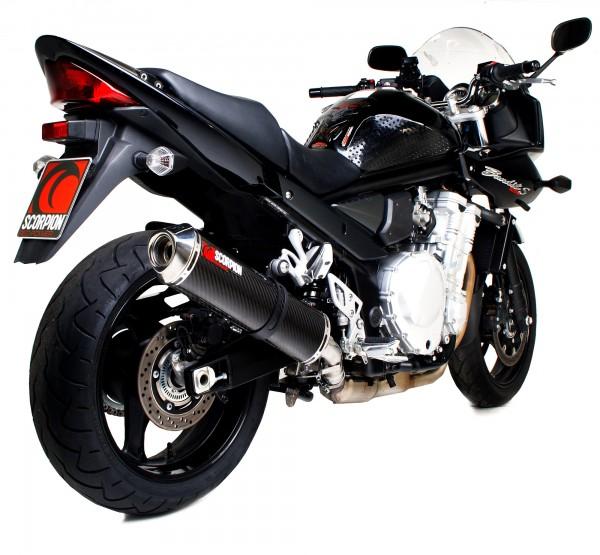 Scorpion Factory Auspuff für Suzuki GSF 1250 Bandit 2007-2015 Motorräder