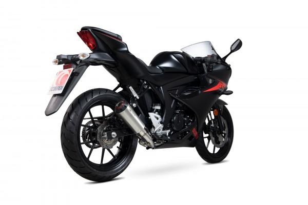 Scorpion Red Power Komplettanlage für Suzuki GSX R 125 2017-2020 Motorräder
