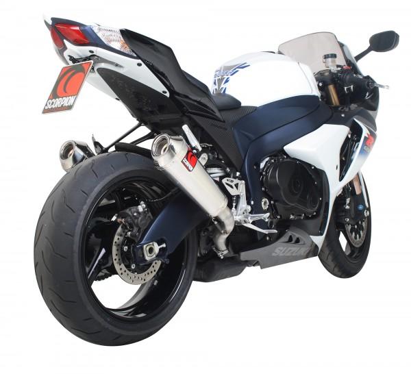 Scorpion Power Cone Auspuff für Suzuki GSXR 1000 2009-2011 Motorräder