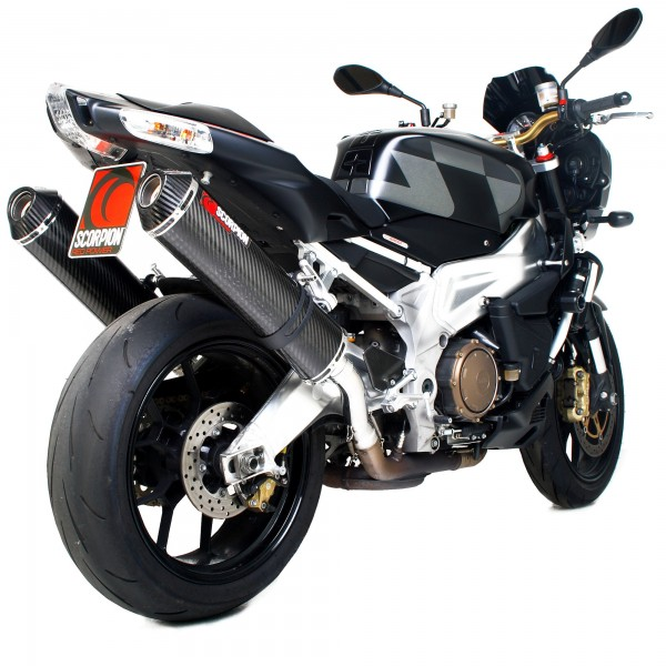 Scorpion Factory Auspuff für Aprilia Tuono 2003-2008 Motorräder