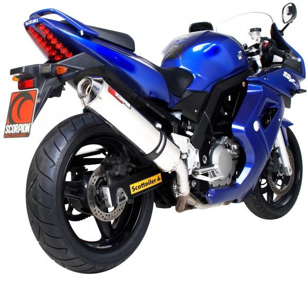 Scorpion Factory Auspuff für Suzuki SV 650 2004-2015 Motorräder