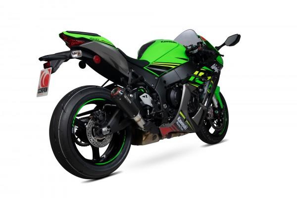 Scorpion Red Power Auspuff für Kawasaki Ninja ZX 10 R 2016-2020 / RR 2017-2020 / R SE 2018-2020