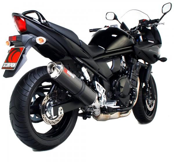 Scorpion Factory Auspuff für Suzuki GSF 650 Bandit 2007-2011 Motorräder