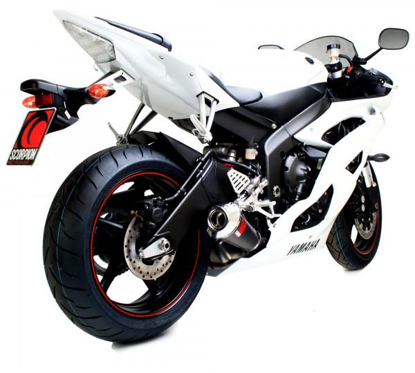 Scorpion Power Cone Auspuff für Yamaha YZF R6 2006-2016 Motorräder