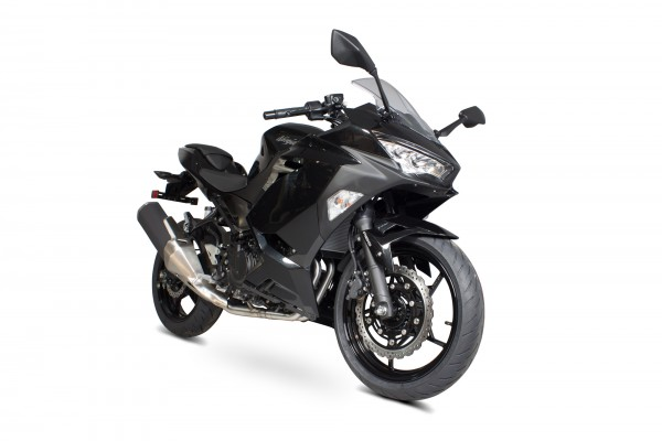 Scorpion Edelstahl Katersatzrohr für Kawasaki Ninja 400 / 250 2018- Motorräder