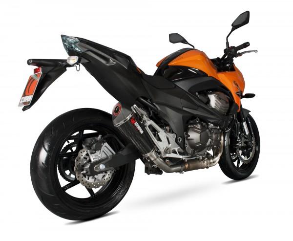 Scorpion Serket Taper Auspuff für Kawasaki Z 800 E 2013-2016 Motorräder